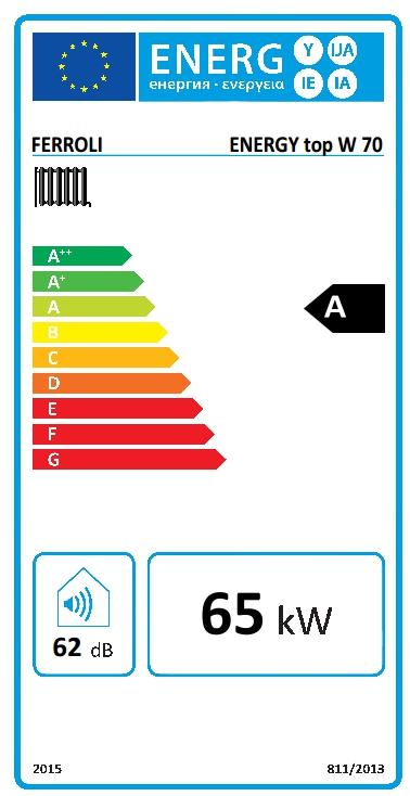 Caldera de condensación Ferroli ENERGY Top W 70_product