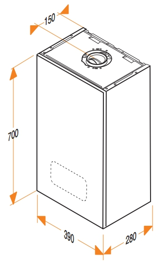 Caldera de gas de condensación Hermann Micra Plus condens 25_product