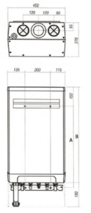 Caldera a gas de condensación ACV Prestige Kombi Kompakt HR eco 24-28_product_product