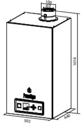 Caldera de condensación ACV Prestige 24 Solo_product